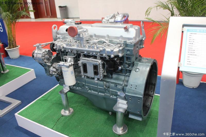yc6a系列柴油机是玉柴与德国fev公司联合设计开发的新型增压中冷图片