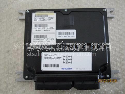 小松装载机wa200-6液压泵电磁阀702-21-57410 小松wa200-6图片