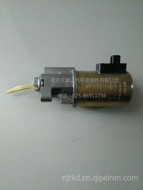 一汽解放道依茨大柴4dd1发动机配件 发动机停油电磁阀 02113791图片