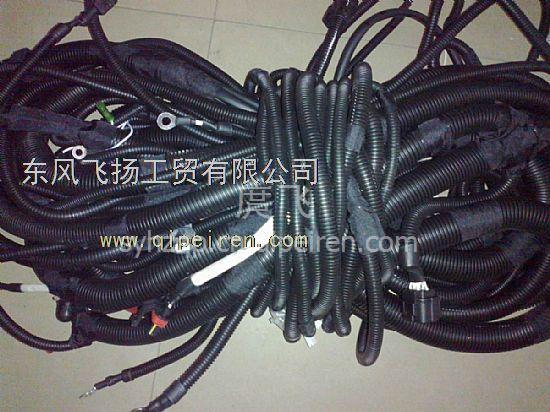 东风大力神玉柴6m290发动机车架线束底盘线束总成 3724580-k29c0