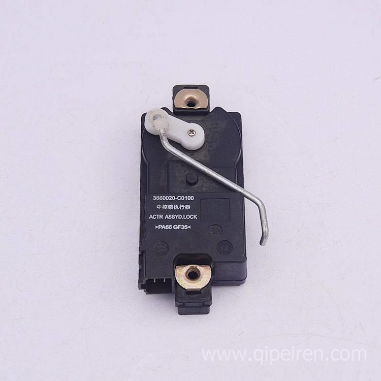东风天龙欧三中控锁执行器总成 3660020-c0100东风中控锁控制器