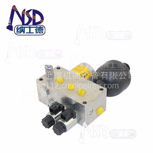 03714357钩机配件优质出售晋中柳工先导阀块组件 贺德克图片