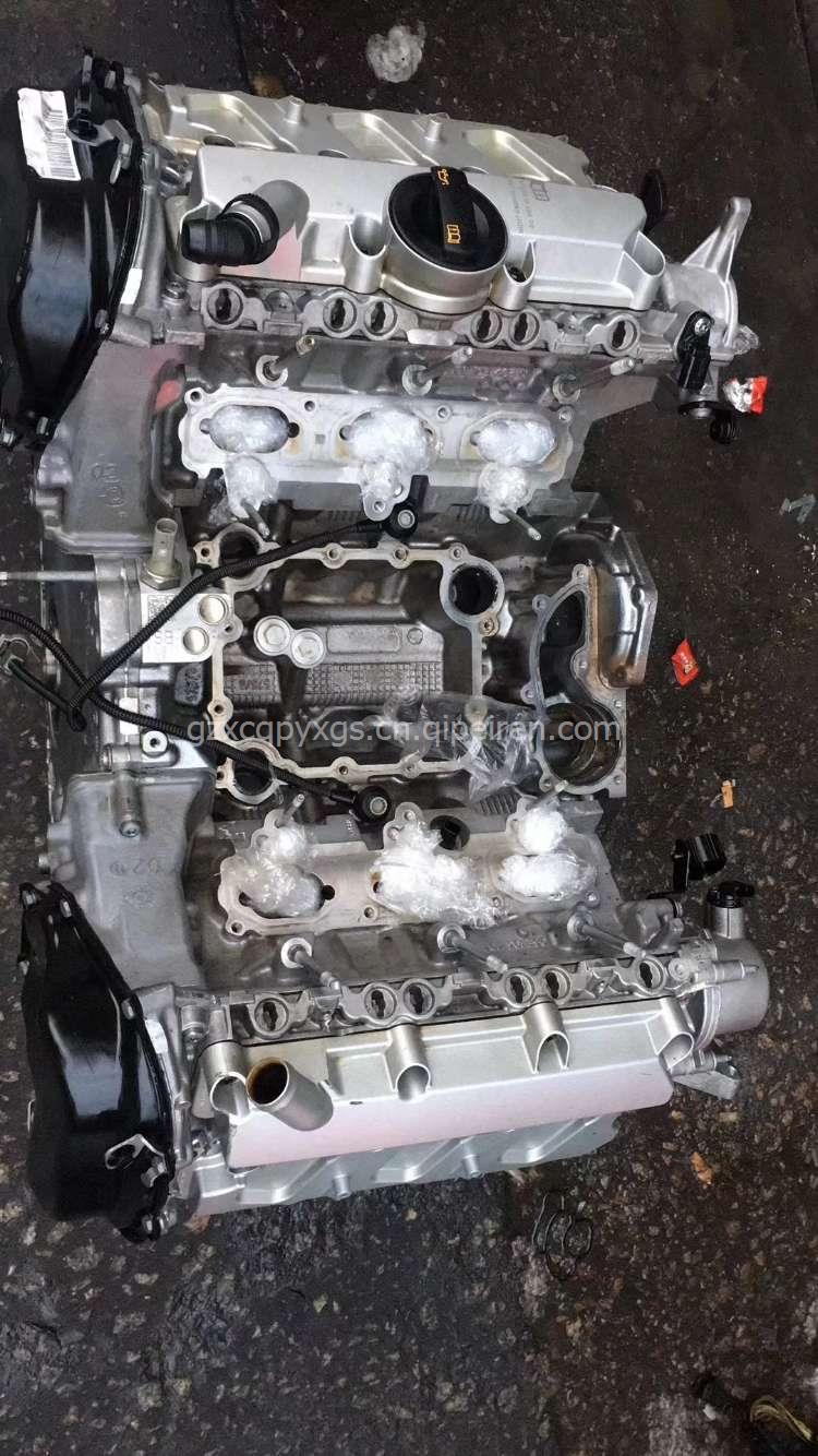奥迪q73.0t发动机总成进口原装拆车件 奥迪q73.